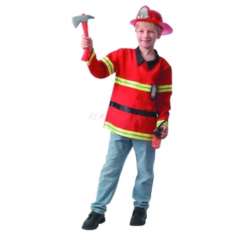 Dětský karnevalový kostým - hasič, 110 - 120 cm