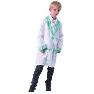 Dětský karnevalový kostým - doktor, 110 - 120 cm