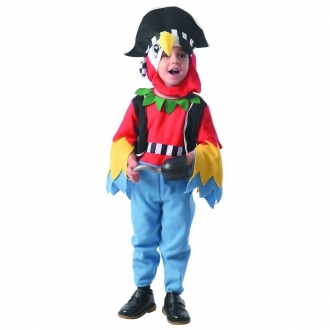 Dětský karnevalový kostým - Papoušek, 92 - 104 cm