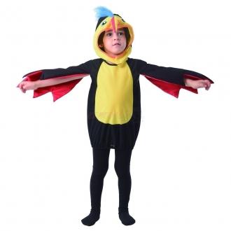 Dětský karnevalový kostým - Tukan, 92 - 104 cm
