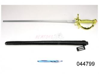 Mušketýrský meč s pochvou