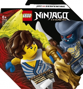 LEGO® Ninjago 71732 Epický souboj – Jay vs. Serpentine