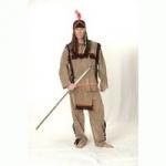 Šaty na karneval pro muže-indián