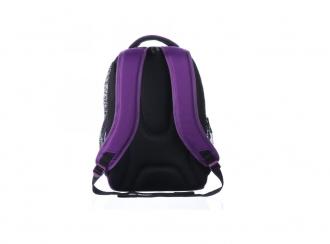 Dívčí tříkomorový školní batoh BAGMASTER NEO 8 A