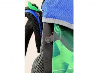 Školní batoh POLO 7 B BLUE/GREEN/BLACK