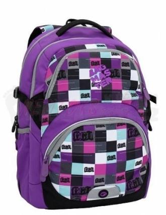 Školní batoh BAGMASTER THEORY 6 A violet