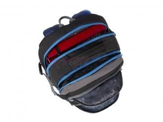 Školní batoh BAGMASTER THEORY 9 D BLUE/BLACK/GRAY