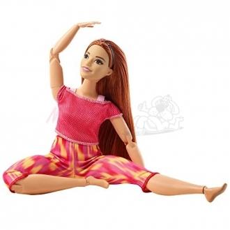 Mattel Barbie v pohybu růžová