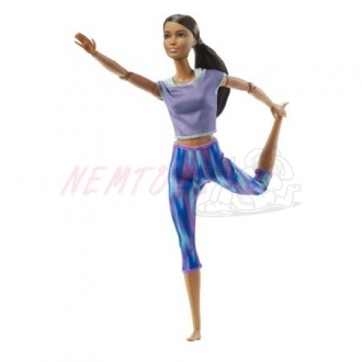 MATELL Barbie v pohybu modrá