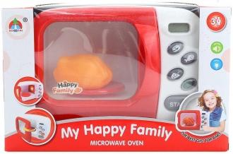 Trouba dětská funkční mikrovlnná + pečené kuře (na baterie Světlo Zvuk)