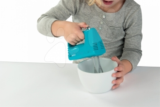 Ruční mixér Mini Tefal Smoby s metličkami modrý