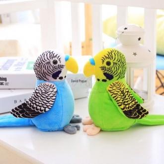 Opakující papoušek se závěsným bidélkem