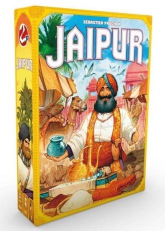Jaipur - taktická obchodní hra pro 2 hráče