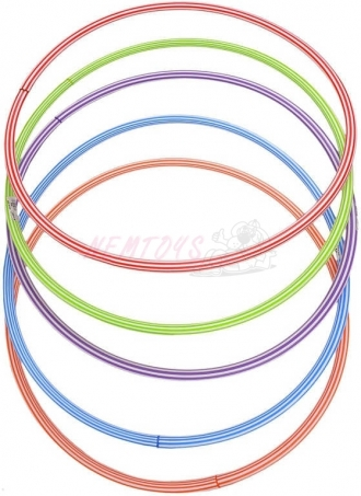 Obruč dětská gymnastická malá 70cm kruh Hula-Hop 5 barev