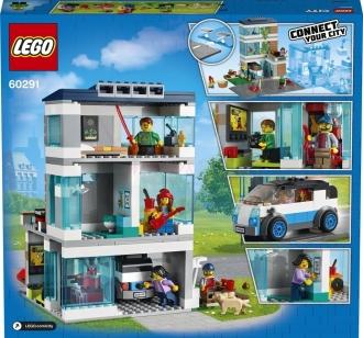 60291 LEGO CITY – Rodinný dům