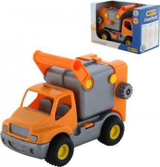 Popelářské auto v krabičce WADER - 30 cm