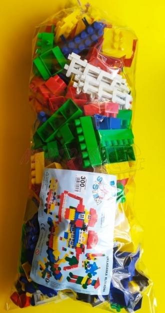 Velká plastová stavebnice - 300 ks
