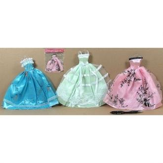 Šaty plesové pro panenku