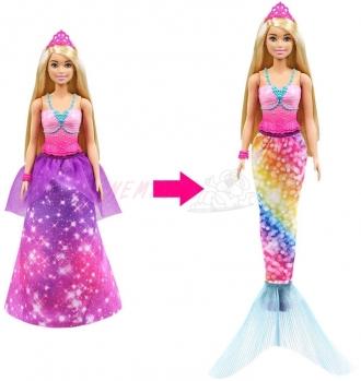 Barbie z princezny mořská panna