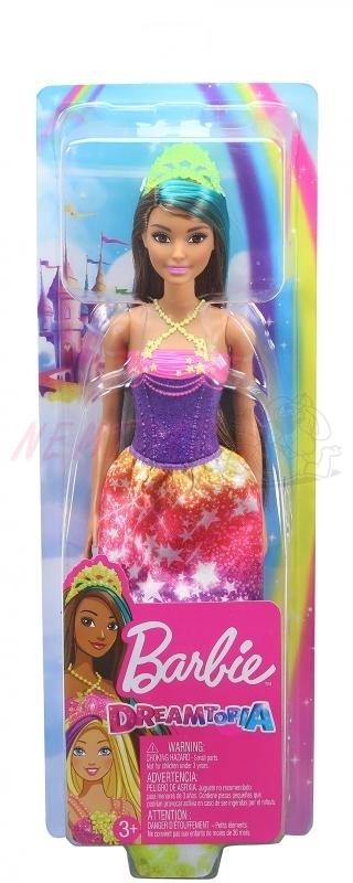 Barbie Dreamtopia Kouzelná princezna, duhová