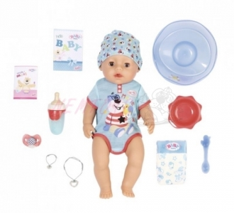 BABY born s kouzelným dudlíkem-chlapeček  43 cm