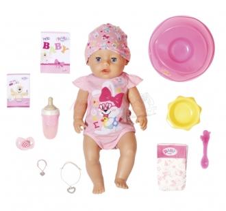 BABY born s kouzelným dudlíkem-holčička 43 cm