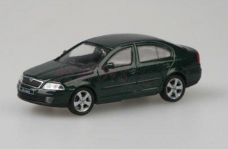 Abrex Škoda Octavia II (2004) 1:43 - Zelená Natur Metalíza