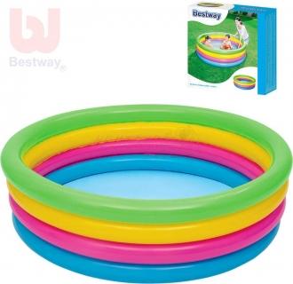 Bestway 51117 Nafukovací bazén barevný 157 x 46 cm