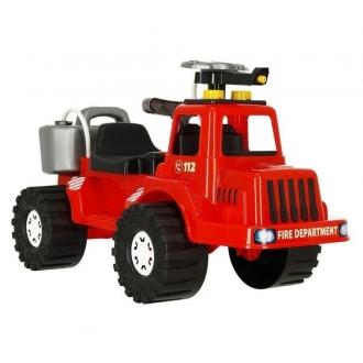 Auto hasiči stříkací vodu 70cm plast se zásobníkem na vodu - 83x38x34cm 24m+