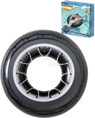 BESTWAY Kruh nafukovací pneumatika 119cm  do vody 36102