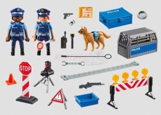 PLAYMOBIL® City Action 6924 Policejní zátaras