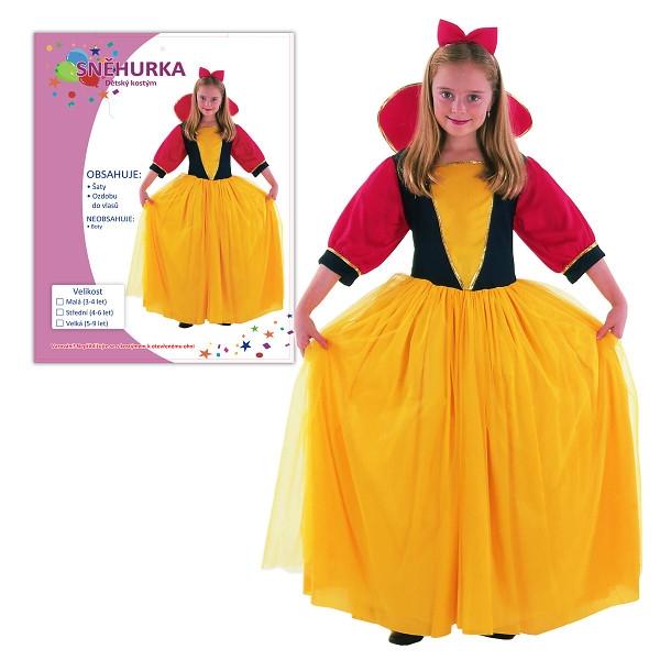 Dětský karnevalový kostým SNĚHURKA
