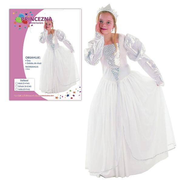 Dětský karnevalový kostým  PRINCEZNA