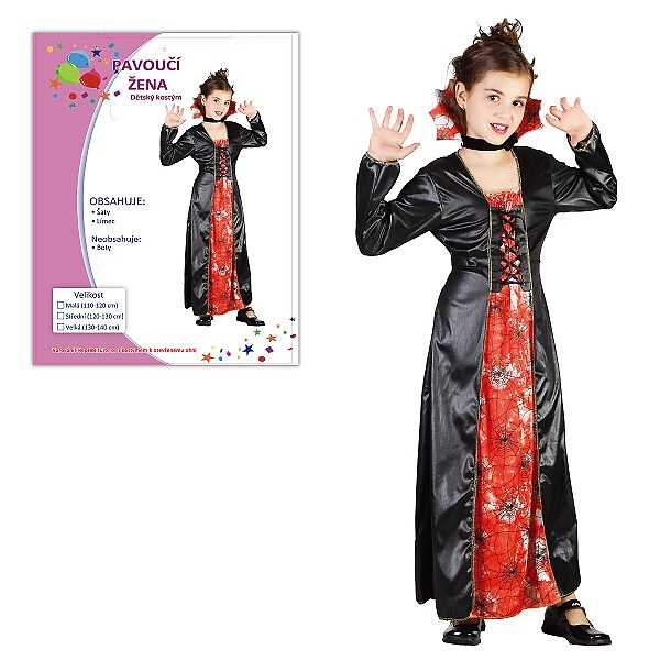 Karnevalový kostým PAVOUČÍ ŽENA