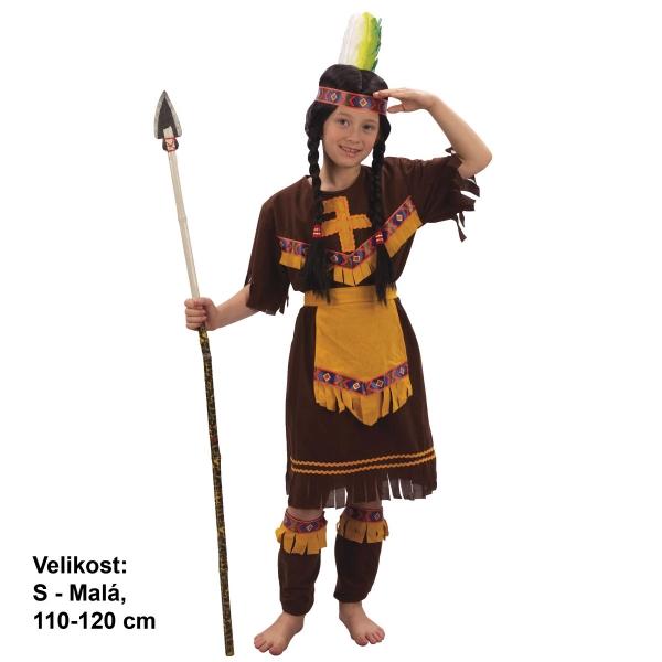 Dětský karnevalový kostým INDIÁNKA