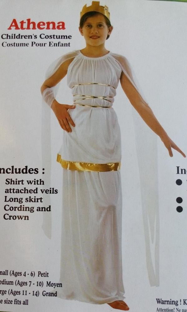 Karnevalový kostým  ATHÉNA