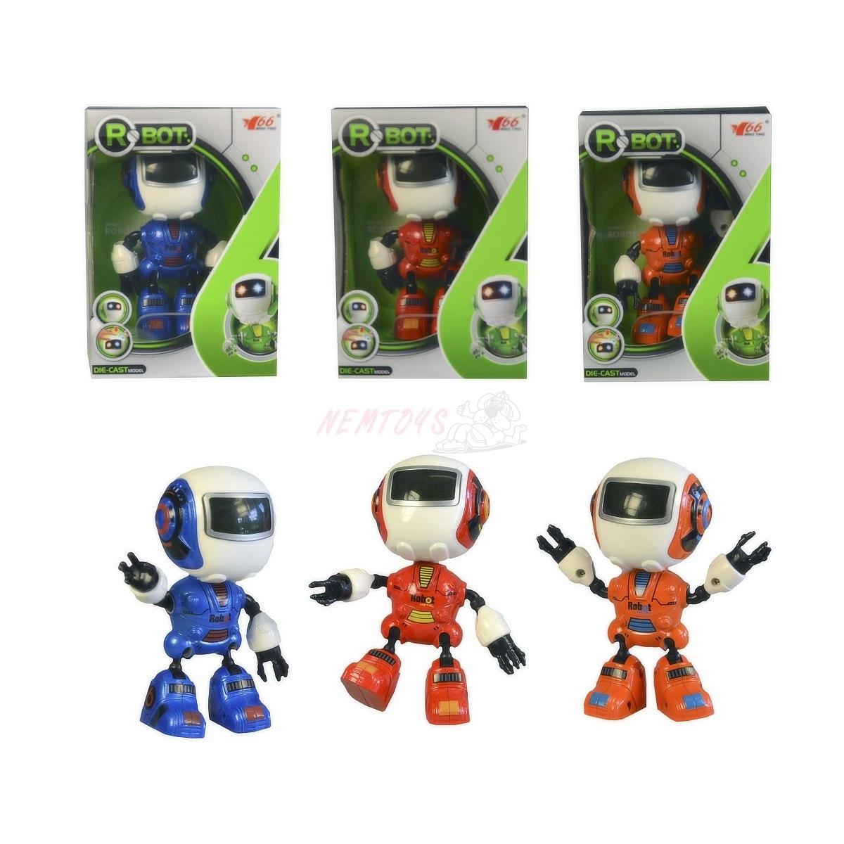 Mini Zigy robot, 12cm