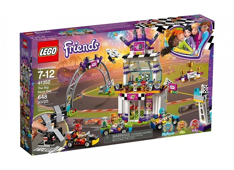Popis hračky LEGO Friends 41352 Velký závod