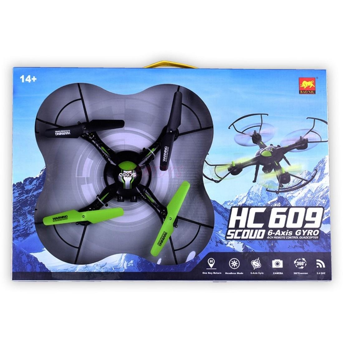 DRON HC 609 S KAMEROU