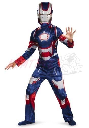 Karnevalový kostým IRON MAN 3-120-130 cm