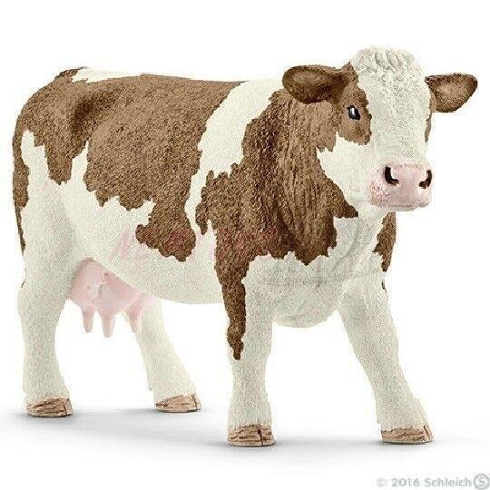 Schleich 13801 - kráva simmentálská