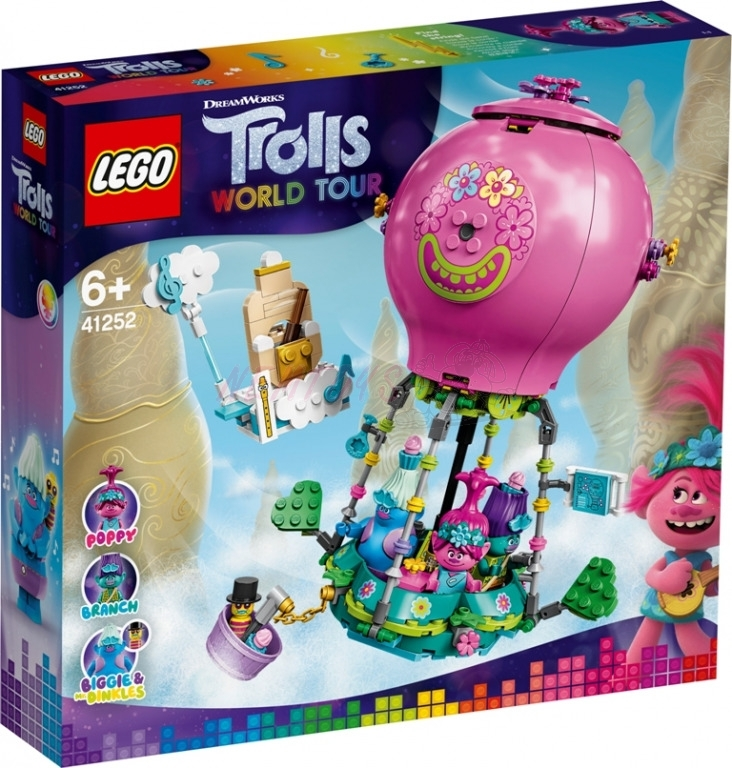 LEGO® Trolls World Tour 41252 - Trollové a let balónem