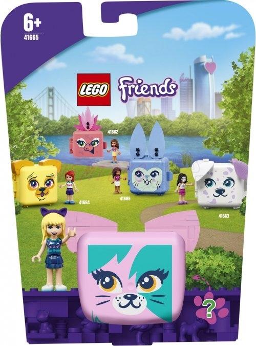 Lego Friends 41665 Stephanie a její kočičí boxík