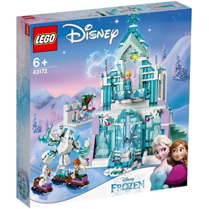 Lego Disney 43172 - Princezna Elsa a její kouzelný ledový palác