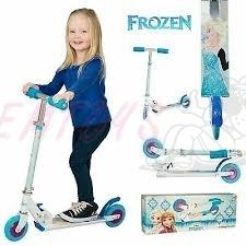 Koloběžka Frozen