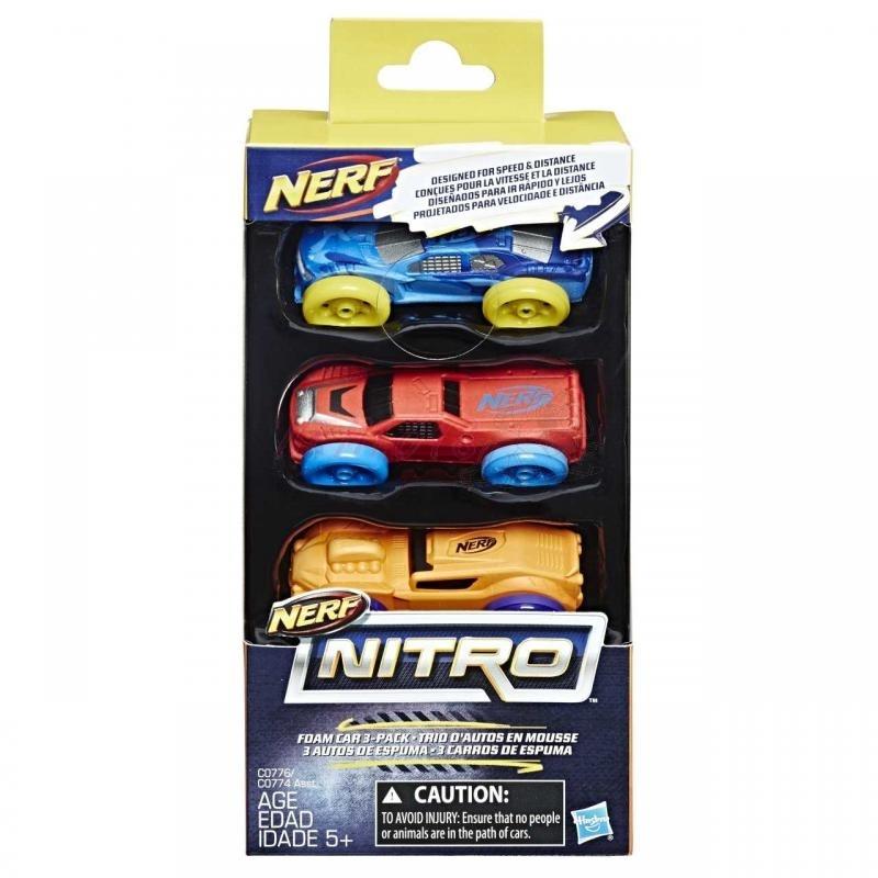 Hasbro Nerf Nitro náhradní nitro 3 ks, více druhů
