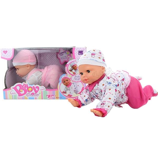 Baby lezoucí miminko